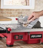 SKILSAW Wet Tile Saw with HydroLock System, 7-in | Skilnull