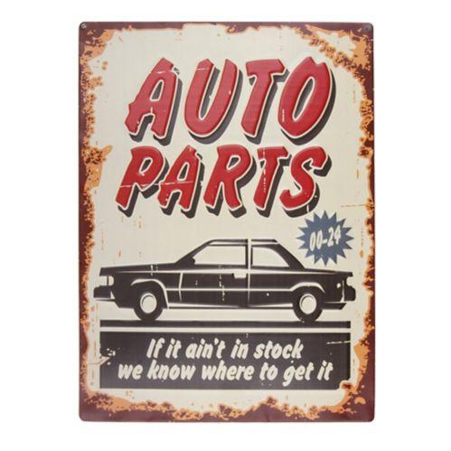 Plaque en métal, pièces d'auto Image de l'article