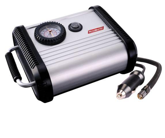 MotorMaster 12V Aluminum Water-Resistant Air Compressor Product image
