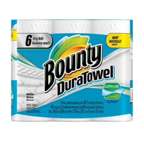 Bounty DuraTowel King Rolls, 6-pk Product image