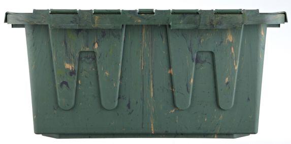Boîte avec couvercle rabattable, camouflage, 56,8 L Image de l'article