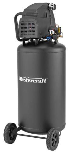 Mastercraft 26 Gallon Air Compressor, Matte Black Product image