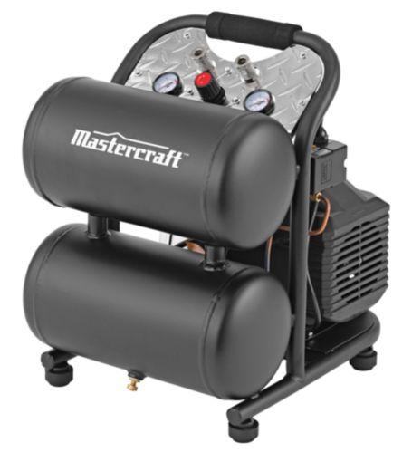 Mastercraft 5 Gallon Air Compressor, Matte Product image