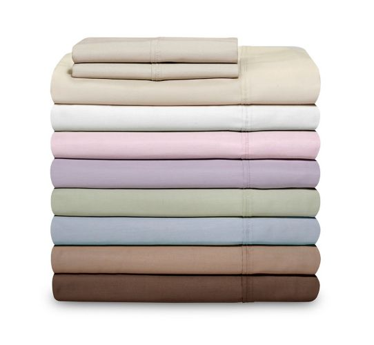 Cotton 600-Thread-Count Sheet Set, 3-pc Product image