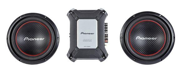 Pioneer Sub/Amp Bundle Product image