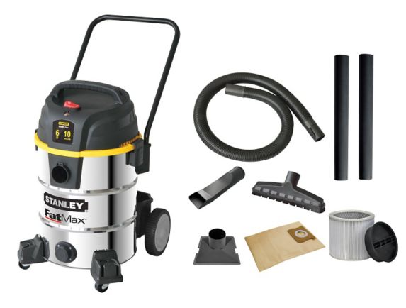 Stanley FatMax Stainless Steel Wet/Dry Vacuum, 38-L Product image