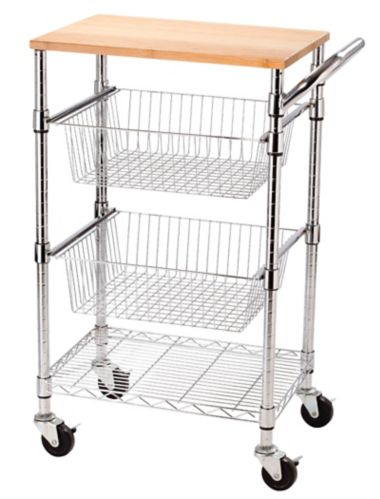 Kitchen Cart with Cutting Board Product image