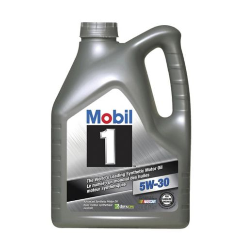 Mobil 1 5W30 Synthetic Motor Oil, 4-L Product image
