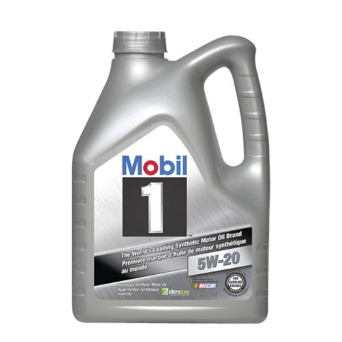 Mobil 1 5W20 Synthetic Motor Oil, 4-L Jug Product image