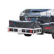 Deluxe Aluminum Hitch-Mount Cargo Carrier