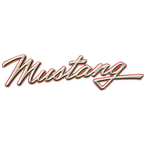 Tin Sign, Mustang Product image