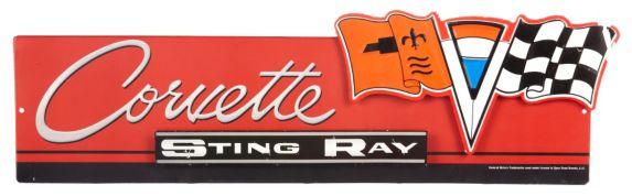 Tin Sign, Corvette Product image