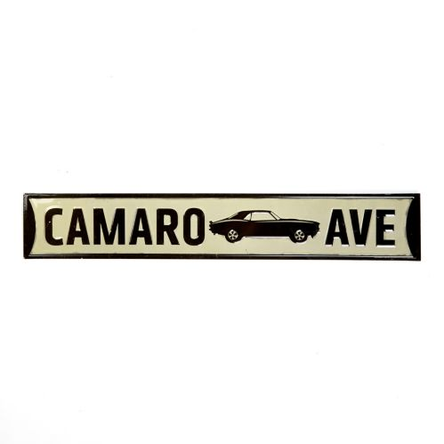 Metal Camaro Avenue Sign Product image