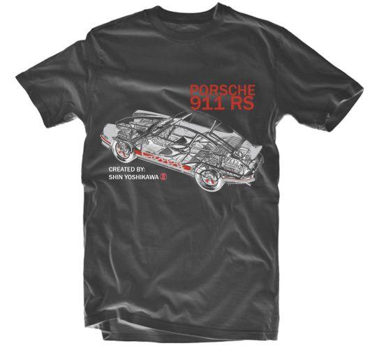T-shirt Porsche Image de l'article