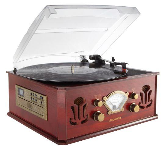 Tourne-disque rétro Image de l'article