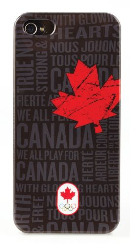 Canadian Olympic Team iPhone 4/4S Case, Black Product image
