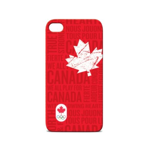 Canadian Olympic Team iPhone 4/4S Case, Red Product image