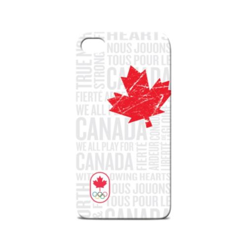 Canadian Olympic Team iPhone 4/4S Case, White Product image