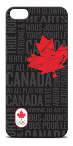 Canadian Olympic Team iPhone 5 Case, Black Product image