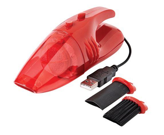 Mini USB Vacuum, Red Product image
