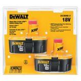 DEWALT 18V NiCad Batteries, 2-Pack | Dewaltnull