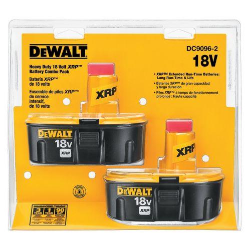 DEWALT 18V NiCad Batteries, 2-Pack Product image