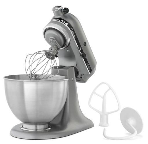 KitchenAid Classic Plus® Tilt-Head Stand Mixer, Silver Metallic Product image