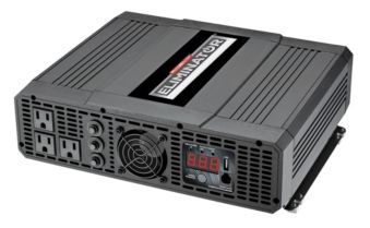 MotoMaster Eliminator Power Inverter with Bonus Cables, 3000W