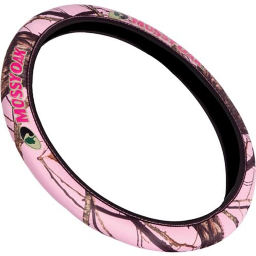 Mossy Oak® Steering Wheel Cover, Pink Product image