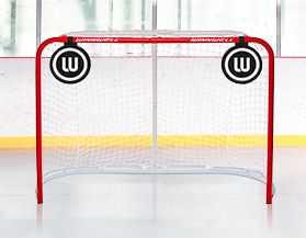 Filets de hockey à cibles de lancer