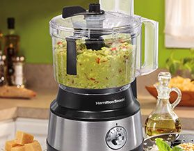 HAMILTON BEACH FOOD PROCESSORS & CHOPPERS