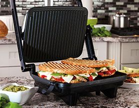 HAMILTON BEACH GRILLS & SANDWICH MAKERS