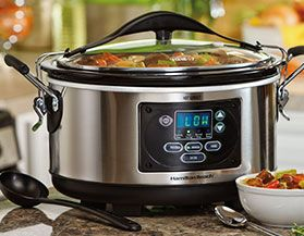 HAMILTON BEACH SLOW COOKERS