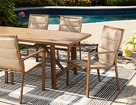 CANVAS Patio Furniture Decor