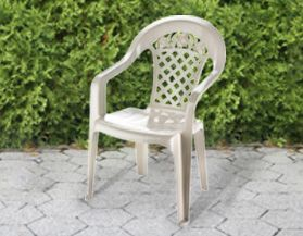 Outdoor Plastic Resin Chairs