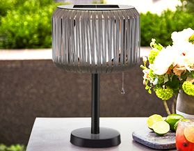 Solar Patio Lanterns & Lights