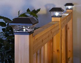 Shop all Deck & Fence Solar Lights