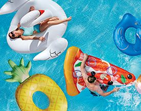 Discover our range of swimming pool toys & swim aids