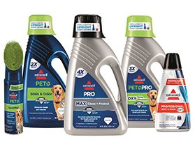 BISSELL FLOOR & CARPET CARE CLEANERS