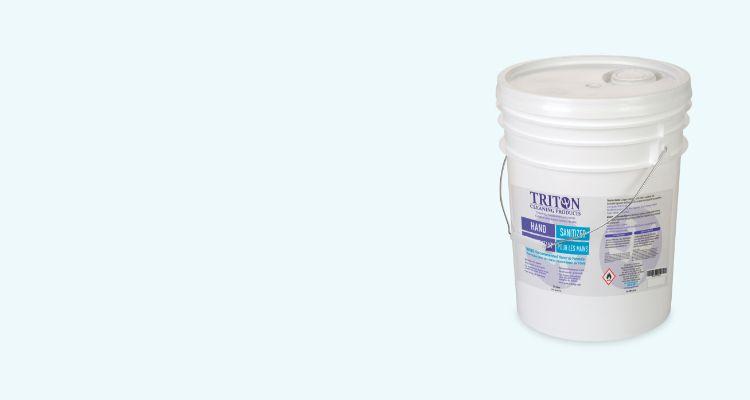 Nouveau bas prix 19,99 $ (prix cour. 49,99 $)  Désinfectant pour les mains Triton, 20 L Tue efficacement les bactéries et microbes sur les mains.  MAGASINEZ