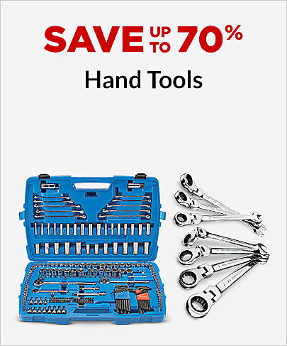 Save up to 70%  Hand Tools