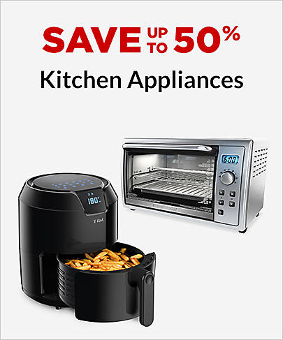 Save up to 50% Kitchen Appliances