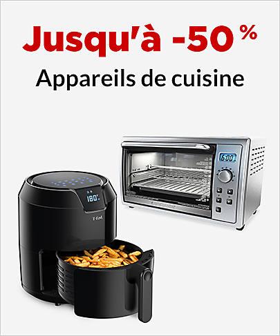 Jusqu'à -50 % Appareils de cuisine