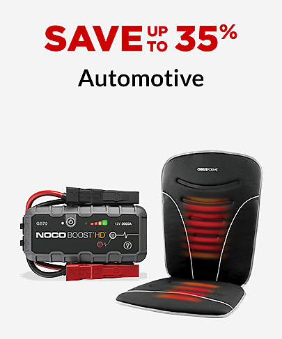 Save up to 35% Automotive