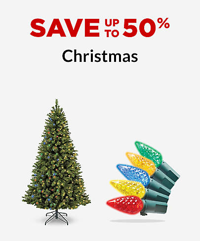 Save up to 50% Christmas