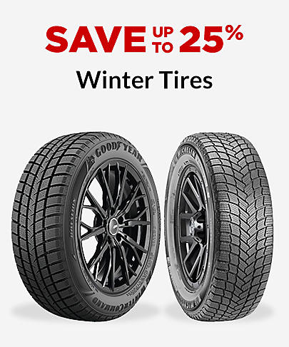 Save up to 25% Winter Tires