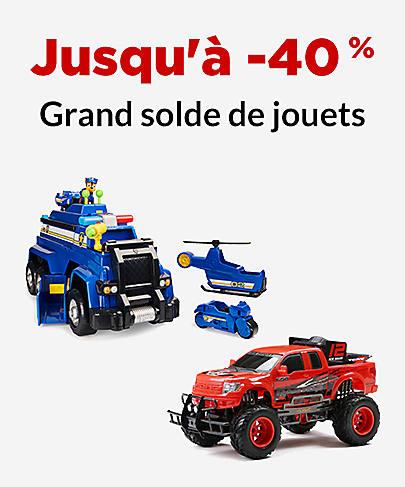 Jusqu'à -40 % Grand solde de jouets