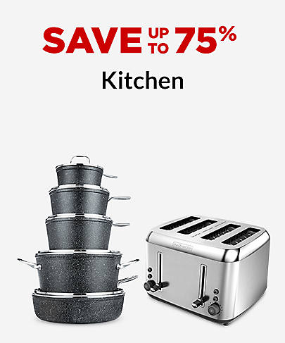 Save up to 75% Kitchen