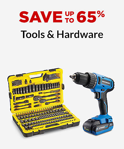 Tools & Hardware Save up to 65%