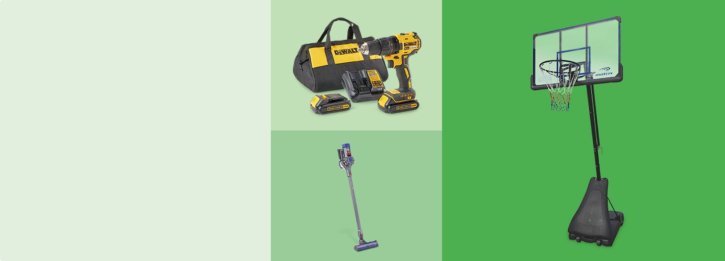 BRING SPRING TO YOUR HOME  & SAVE UP TO 40%   Hit refresh and gear up for the warm season with hot deals on tools, vacuums, outdoor play, and more.